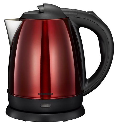 wasserkocher metallic spray rot 1 2 liter melissa 16130269 schnurlos kettle ebay. Black Bedroom Furniture Sets. Home Design Ideas