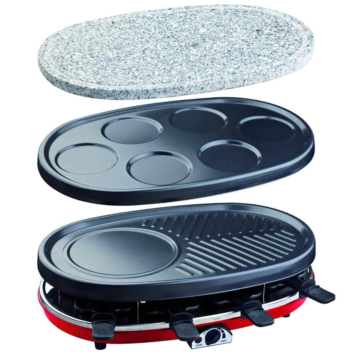 Raclette-Grill 4 in 1 H.Koenig RP418 – Bild 1
