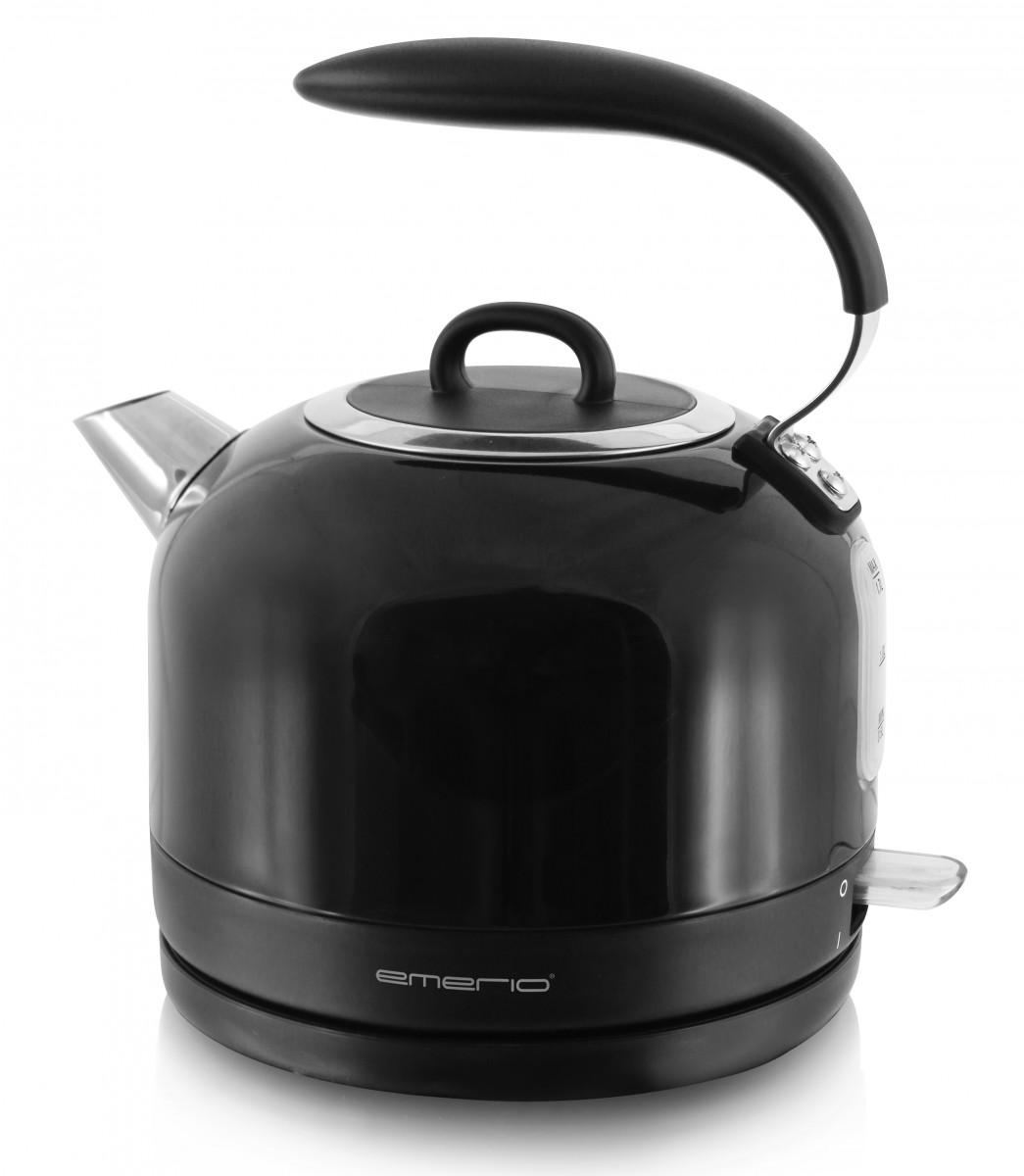 Wasserkocher schwarz 2200 Watt Emerio WK-111081 – Bild 1