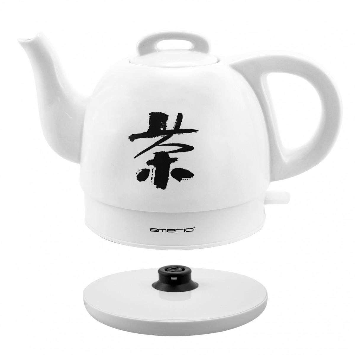 Design Wasserkocher mit Keramik-Kanne Emerio WK-109713.2 – Bild 2