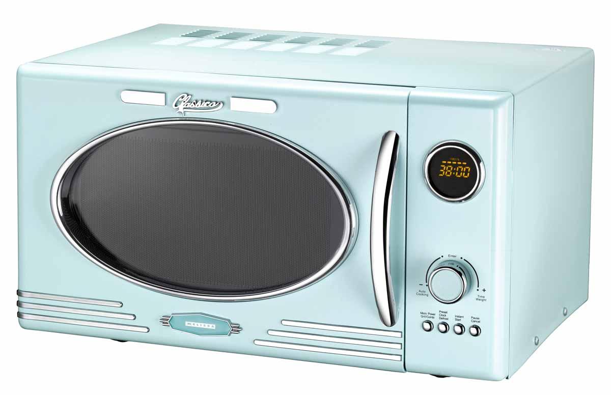 Classico Mikrowelle mit Grill Melissa 16330122 peppermint-blau ...