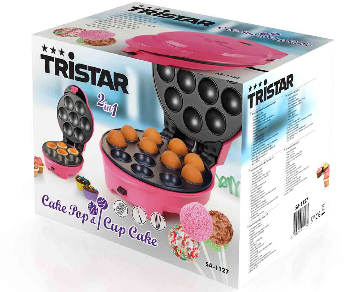 2in1 Muffin Popcake-Maker Tristar SA-1127 – Bild 3