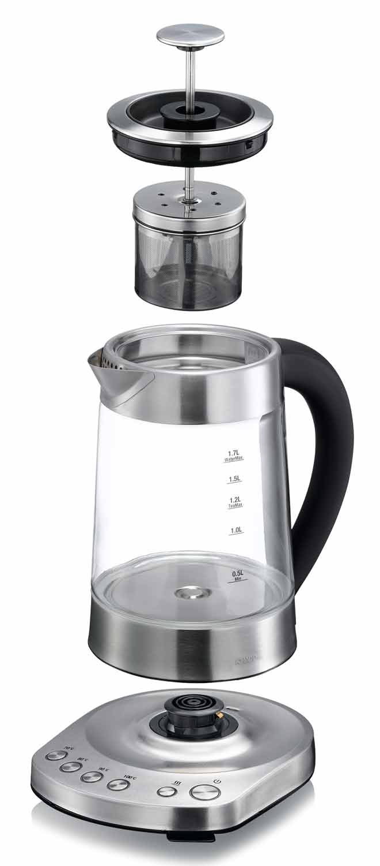 2 in 1 Wasserkocher und Teekocher KHAPP 15130003 – Bild 2