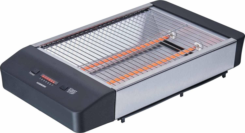 Flachtoaster schwarz Melissa 16140136 Toaster – Bild 3