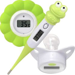 3in1 Box Baby- Schnuller und Badewasser-Thermometer Digital Melissa 16690070