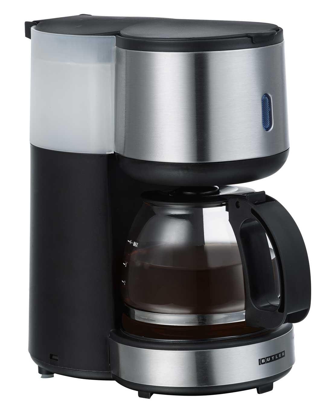 Butler 16100121 Filter-Kaffeemaschine, 4 Tassen für Singles – Bild 2