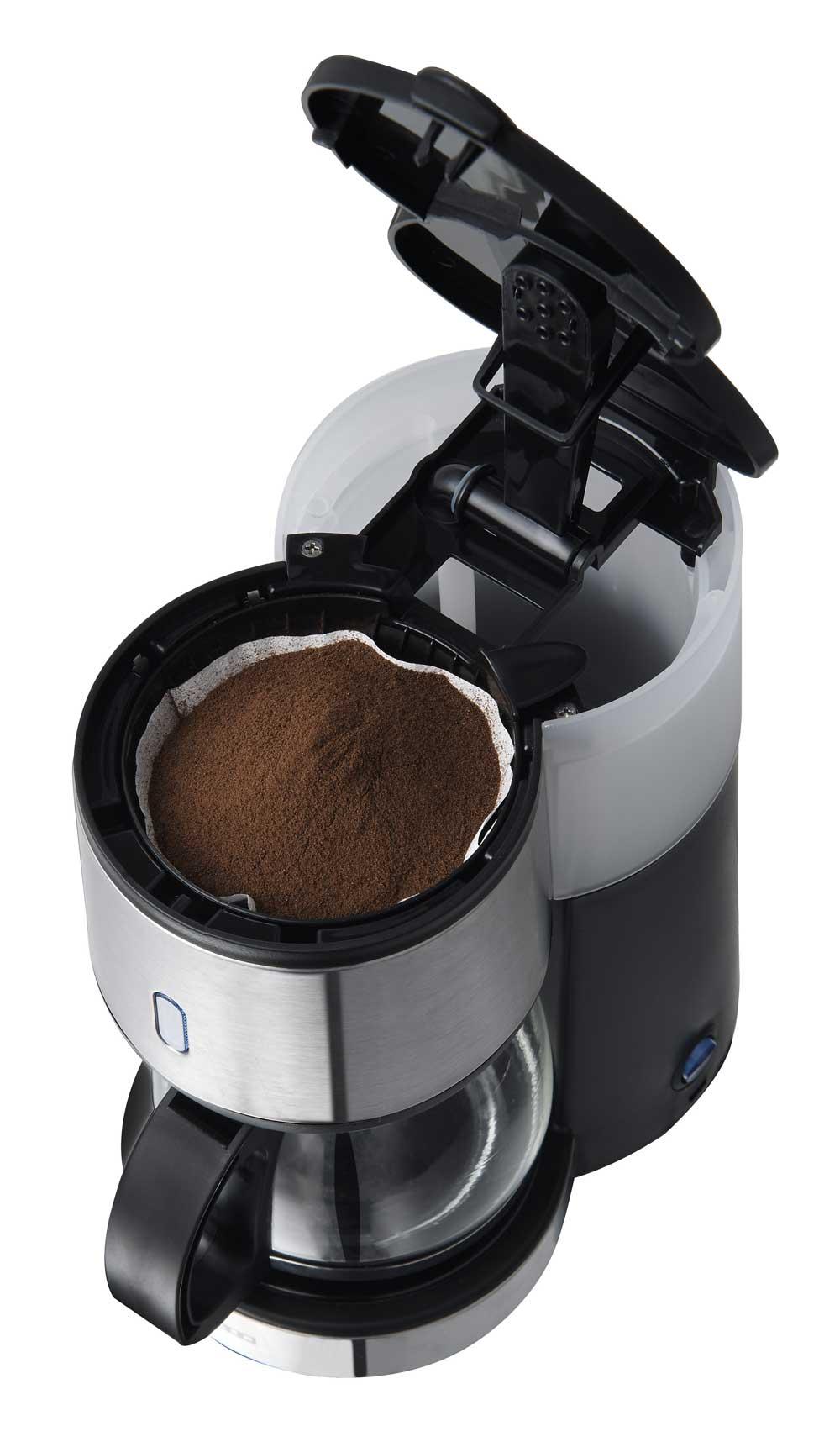 kleine filter kaffeemaschine 4 tassen 0 6 liter single. Black Bedroom Furniture Sets. Home Design Ideas