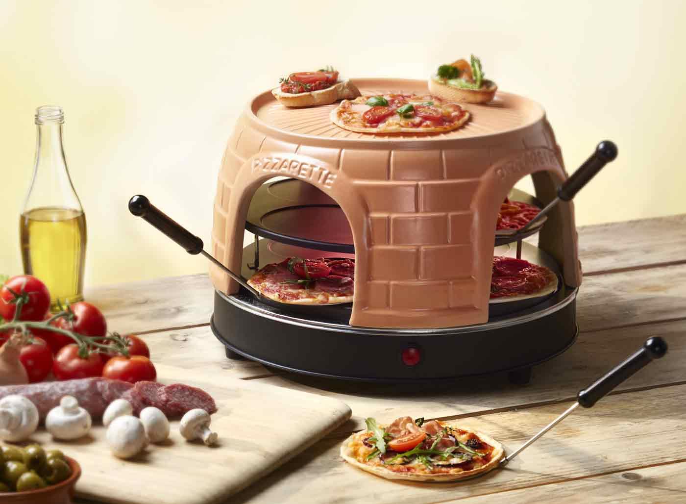 Pizzaofen Pizzarette Emerio PO-116124 – Bild 1