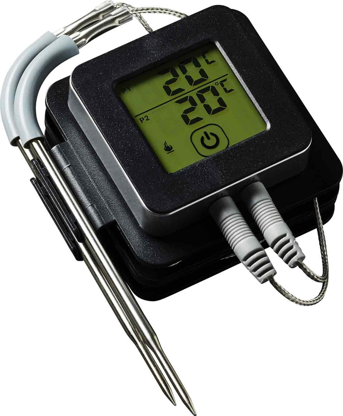 Bluetooth Grill-Thermometer Fleisch-Thermometer mit APP-Steuerung Orange 60690001 – Bild 3