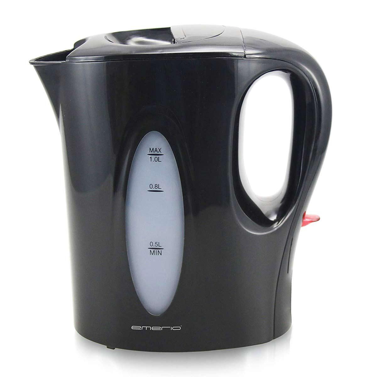 Wasserkocher schwarz 1200 Watt Emerio WK-114814.1 – Bild 1