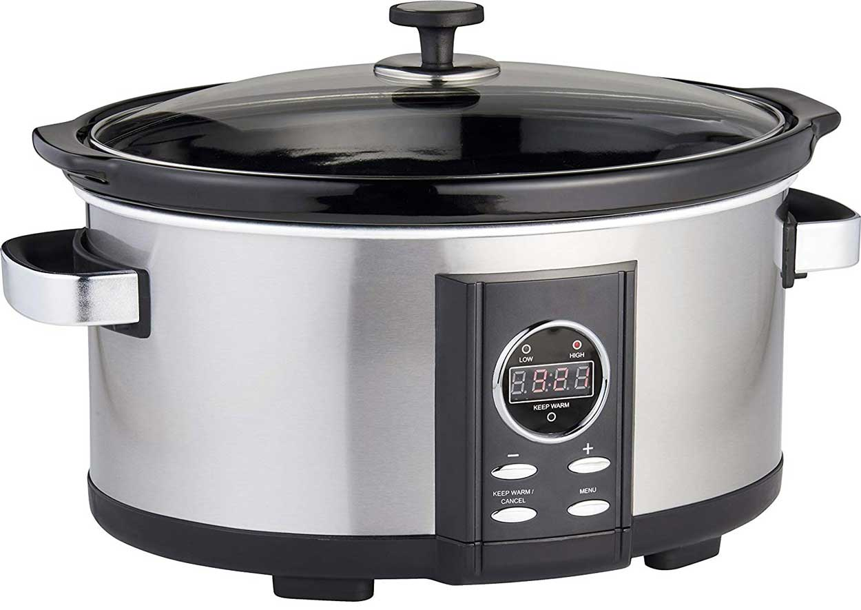 Gastronoma 18280000 Digitaler Pulled Pork Slow-Cooker – Bild 3