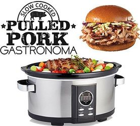 Gastronoma 18280000 Digitaler Pulled Pork Slow-Cooker – Bild 2