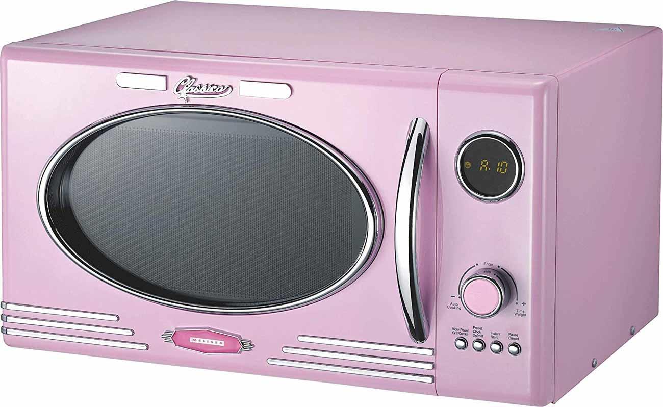 Classico Mikrowelle mit Grill Melissa 16330125 rosa / pink – Bild 2