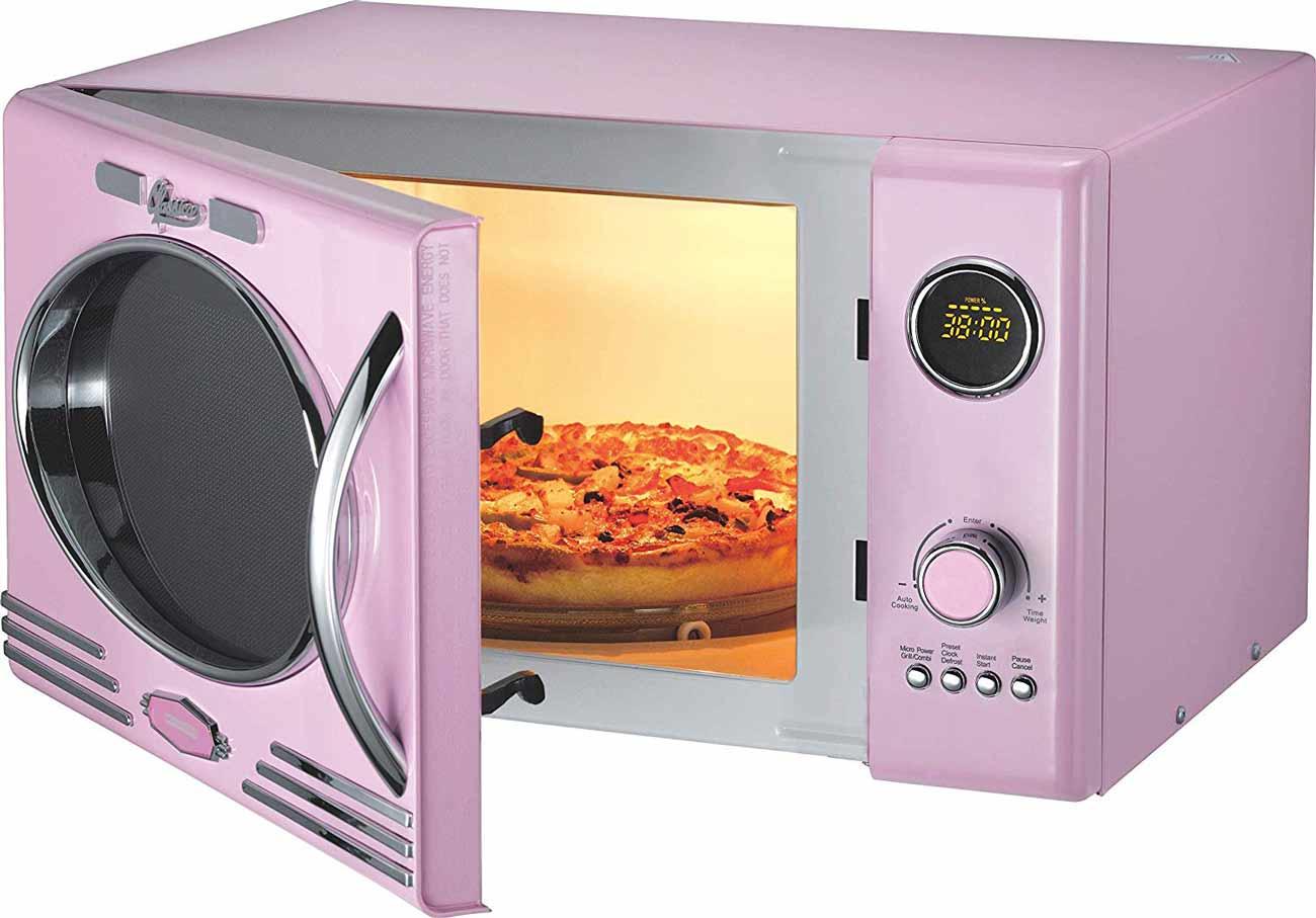 Classico Mikrowelle mit Grill Melissa 16330125 rosa / pink – Bild 3