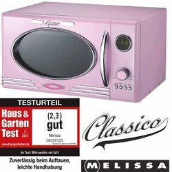 Classico Mikrowelle mit Grill Melissa 16330125 rosa / pink – Bild 1