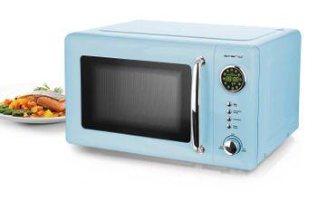 Mikrowelle Retro Design Emerio MW-112141.2 hell-blau / baby-blau – Bild 3