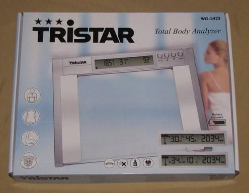 Körperfettanalyse-Waage Tristar WG-2422 – Bild 2