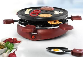Raclette für 6 Pers. Tristar RA-2991