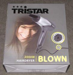 2000 Watt Ionen-Haartrockner Tristar HD-2381 – Bild 5