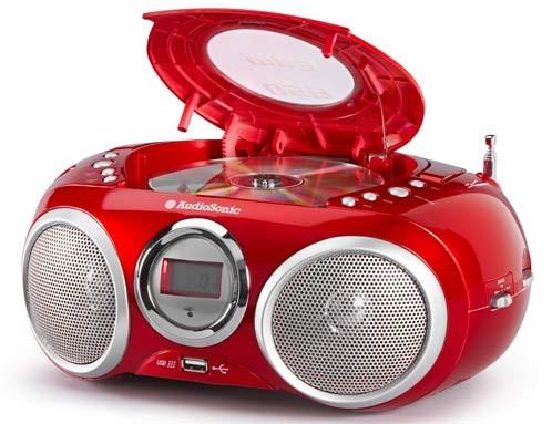 Stereoradio mit CD/MP3 Player AudioSonic CD-570 – Bild 2