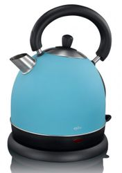 British Style Wasserkocher blau Exido 12130058