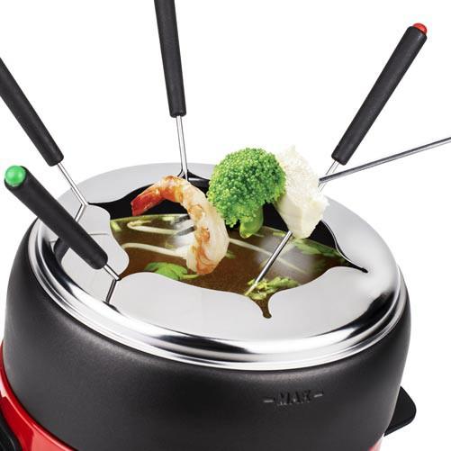 elektrisches fondue set petra fo elektrofondue 800 watt fleischfondue ebay. Black Bedroom Furniture Sets. Home Design Ideas