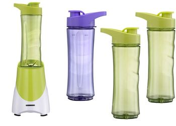 Standmixer Melissa 16180069 Smoothie-Maker to go 4 Becher inkl.