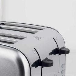 Edelstahl 4 Scheiben Toaster H.Koenig TOS14 – Bild 5