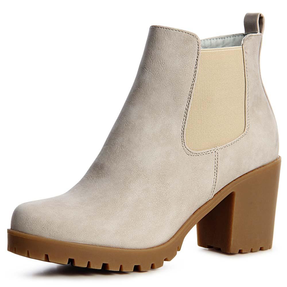 Plateau Zu Booties Stiefel Ankle Details Damen Boots Stiefeletten stQrdCh