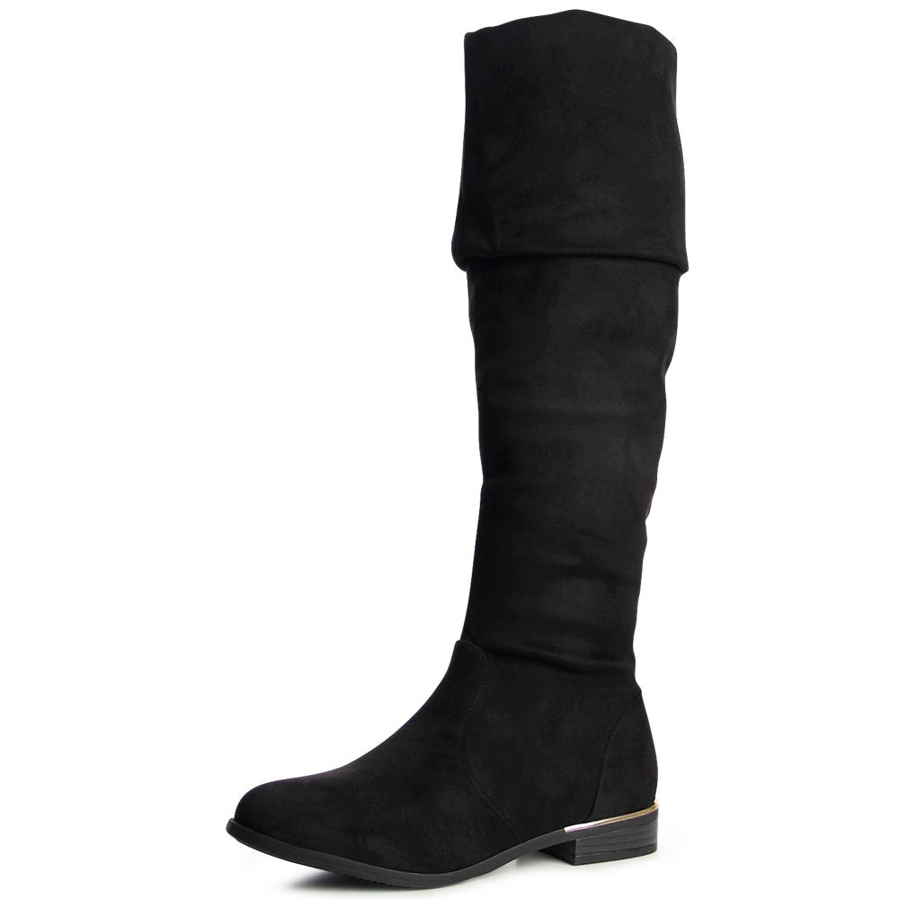 damenschuhe stiefel overknee boots stiefeletten blockabsatz ebay. Black Bedroom Furniture Sets. Home Design Ideas