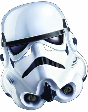 Stormtrooper Card Mask