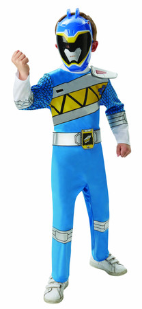 Blue Power Ranger Dino Charge Deluxe - Child
