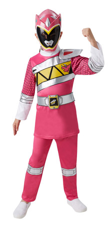 Pink Power Ranger Dino Charge Deluxe - Child