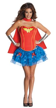 Wonder Woman Corset Dress - Adult