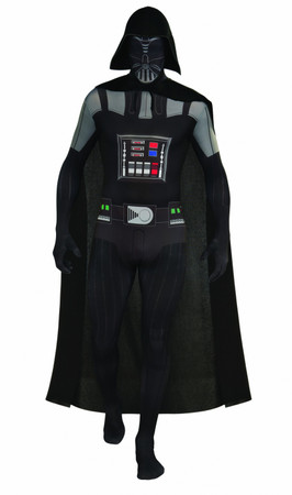 2nd Skin Darth Vader - Adult