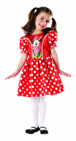Red Minnie Mouse Classic - Child
