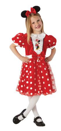 Minnie Mouse Red Glitz - Child