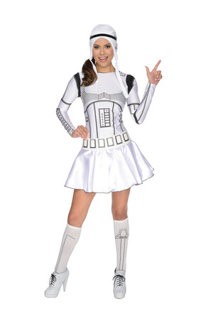Stormtrooper Lady Dress - Adult