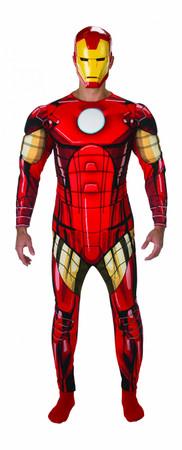 Iron Man Avengers Assemble Deluxe - Adult