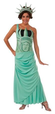 Lady Liberty Damen- Einheitsgröße 36-40