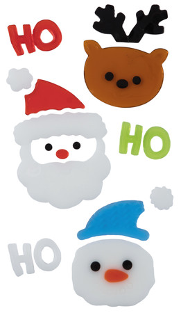 Christmas Gel Sticker, 15x25cm