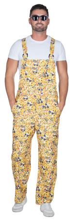 emoji Latzhose -Adult