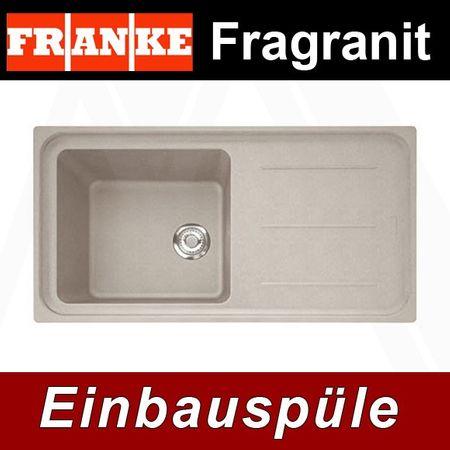Franke Küchen-Spüle Impact IMG 611-100 (114.0177.628) - Fragranit Sahara – Bild 1
