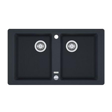 Franke Küchen-Spüle Basis BFG 620 (114.0301.373) - Fragranit Onyx – Bild 1