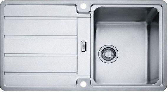 Franke Küchen-Spüle Hydros HDX 614 (101.0303.619) - Edelstahl