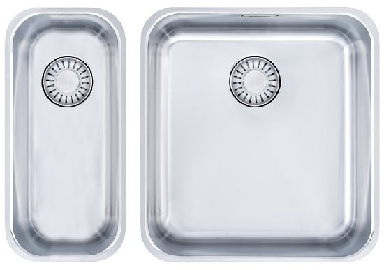 Franke Küchen-Spüle Epos EOX 110-36 16 Kombi (122.0198.003) - Edelstahl  – Bild 1