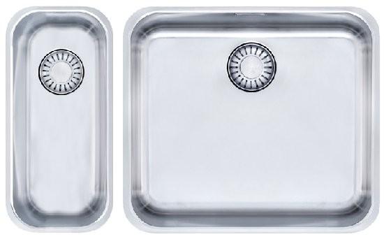 Franke Küchen-Spüle Epos EOX 110-45 16 Kombi (122.0198.004) - Edelstahl  – Bild 1