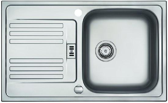 Franke Küchen-Spüle Euroform EFX 614-78 (101.0024.026) - Edelstahl  – Bild 1