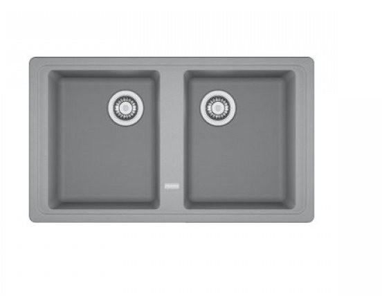 Franke Küchen-Spüle Basis BFG 620 (114.0302.015) - Fragranit Steingrau – Bild 1