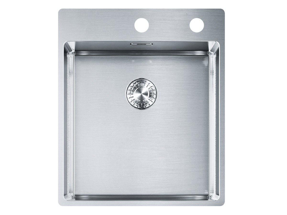 Franke Box BXX 210-40 A Edelstahl-Spüle glatt Spülbecken Küchenspüle ...